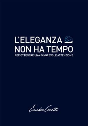 Copertina L'ELEGANZA NON HA TEMPO di Emidio Cesetti